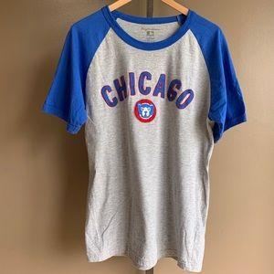 Wright & Ditson Chicago Cubs raglan baseball shirt